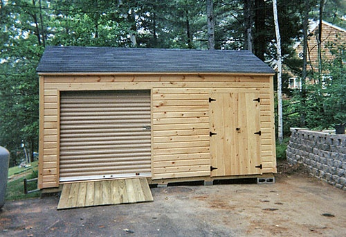 Garden Sheds 8 X 16 maine storage shed pictures - larochelle and sons sheds, lyman me