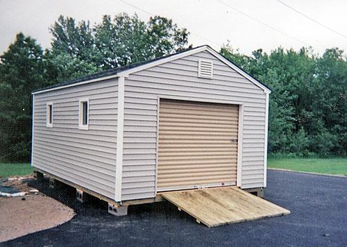 rollup door 10u0027 x 20u0027 vinyl car shed