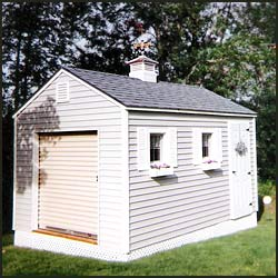 Strong and durable storage sheds in Maine